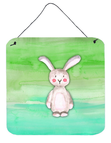 Buy this Bunny Rabbit Watercolor Wall or Door Hanging Prints BB7437DS66