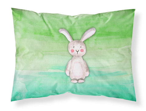 Buy this Bunny Rabbit Watercolor Fabric Standard Pillowcase BB7437PILLOWCASE