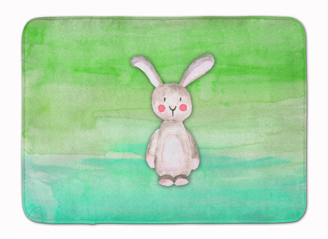 Buy this Bunny Rabbit Watercolor Machine Washable Memory Foam Mat BB7437RUG