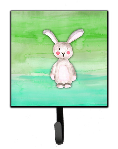 Buy this Bunny Rabbit Watercolor Leash or Key Holder BB7437SH4