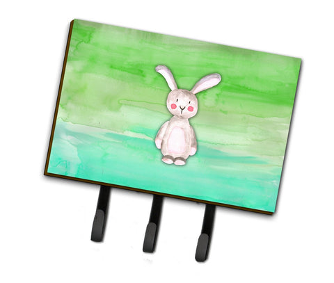 Buy this Bunny Rabbit Watercolor Leash or Key Holder BB7437TH68