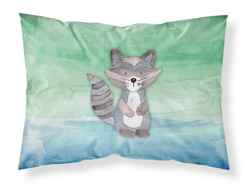 Buy this Raccoon Watercolor Fabric Standard Pillowcase BB7438PILLOWCASE