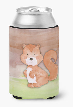 Buy this Squirrel Watercolor Can or Bottle Hugger BB7439CC