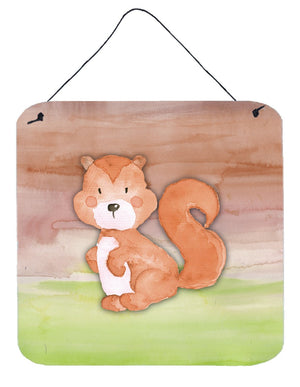 Buy this Squirrel Watercolor Wall or Door Hanging Prints BB7439DS66
