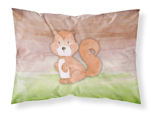 Buy this Squirrel Watercolor Fabric Standard Pillowcase BB7439PILLOWCASE