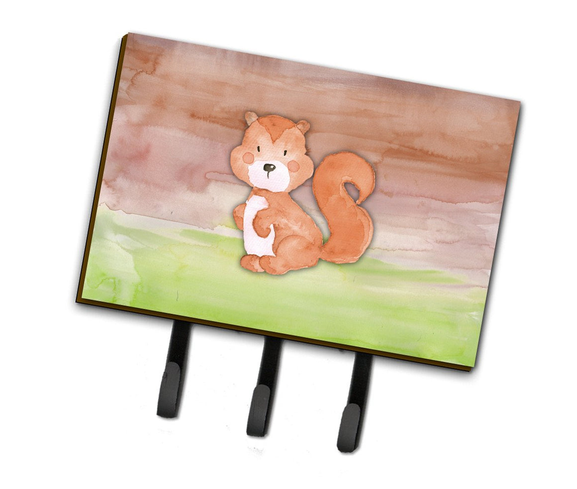 Buy this Squirrel Watercolor Leash or Key Holder BB7439TH68