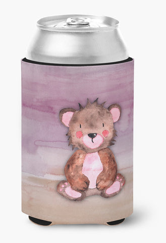 Buy this Bear Cub Watercolor Can or Bottle Hugger BB7441CC
