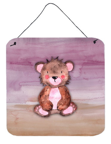 Buy this Bear Cub Watercolor Wall or Door Hanging Prints BB7441DS66