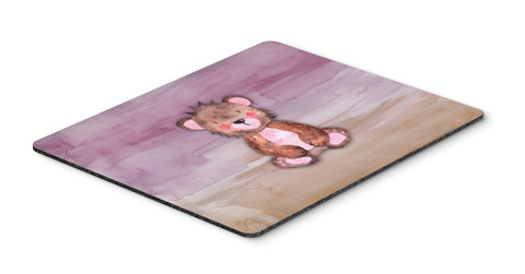 Buy this Bear Cub Watercolor Mouse Pad, Hot Pad or Trivet BB7441MP
