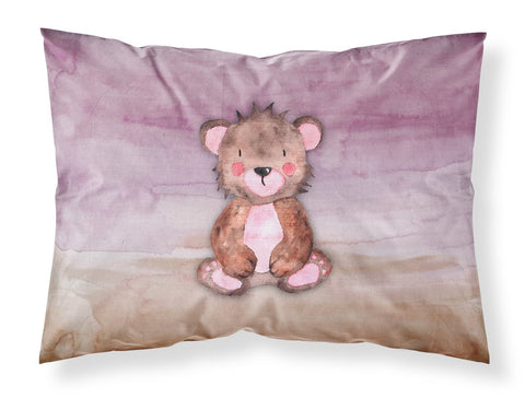Buy this Bear Cub Watercolor Fabric Standard Pillowcase BB7441PILLOWCASE