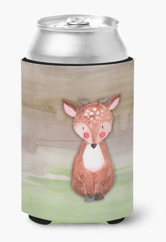 Buy this Baby Deer Watercolor Can or Bottle Hugger BB7442CC