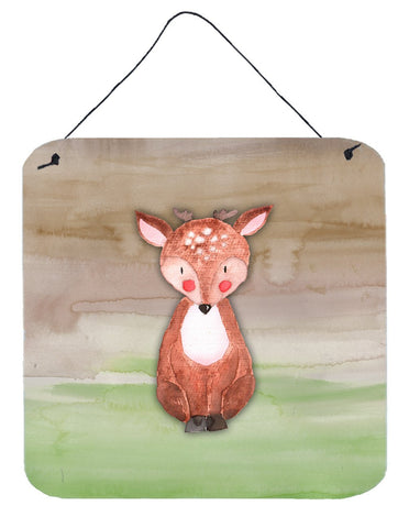 Buy this Baby Deer Watercolor Wall or Door Hanging Prints BB7442DS66