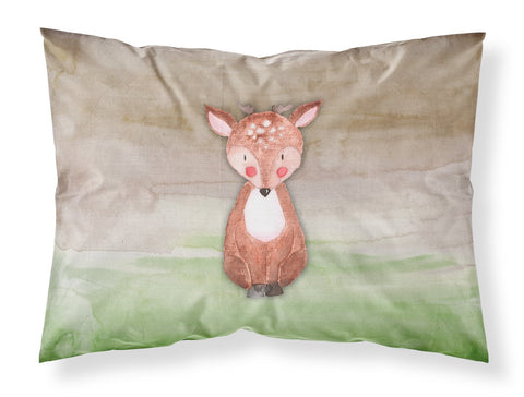 Buy this Baby Deer Watercolor Fabric Standard Pillowcase BB7442PILLOWCASE