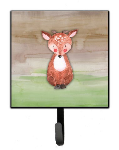 Buy this Baby Deer Watercolor Leash or Key Holder BB7442SH4