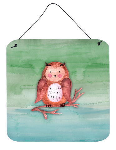 Buy this Brown Owl Watercolor Wall or Door Hanging Prints BB7443DS66