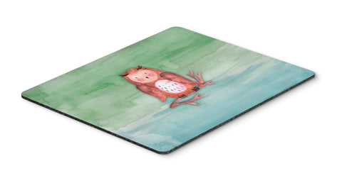 Buy this Brown Owl Watercolor Mouse Pad, Hot Pad or Trivet BB7443MP