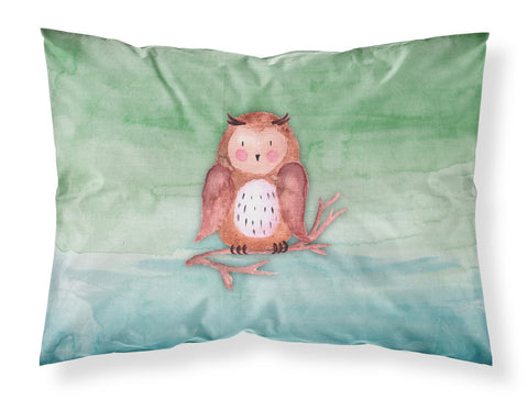 Buy this Brown Owl Watercolor Fabric Standard Pillowcase BB7443PILLOWCASE