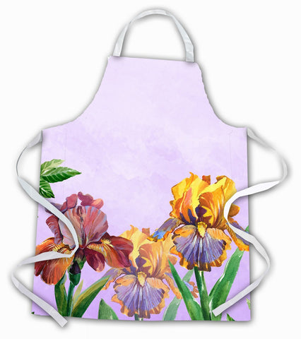 Buy this Purple and Yellow Iris Apron BB7445APRON