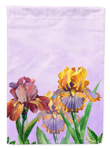 Buy this Purple and Yellow Iris Flag Canvas House Size BB7445CHF