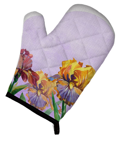 Buy this Purple and Yellow Iris Oven Mitt BB7445OVMT