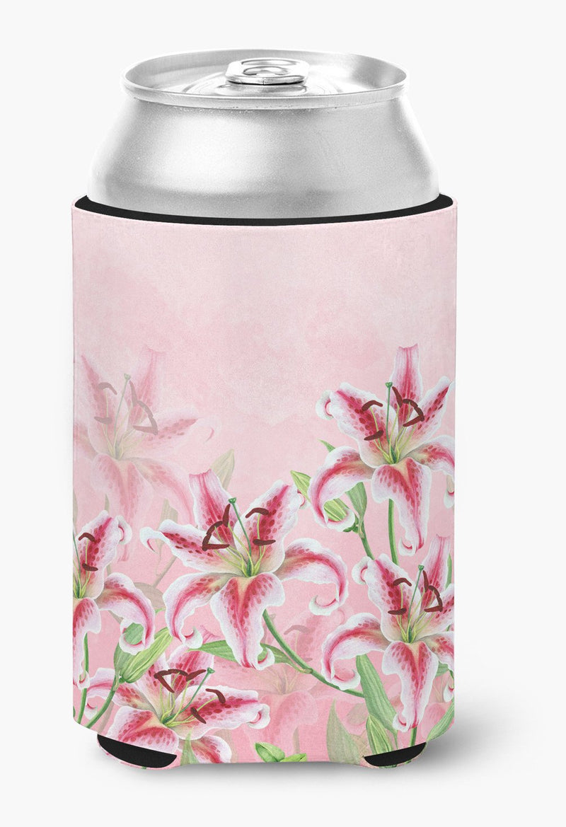 Buy this Pink Lillies Can or Bottle Hugger BB7446CC