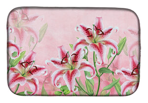 Buy this Pink Lillies Dish Drying Mat BB7446DDM