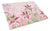 Buy this Pink Lillies Glass Cutting Board Large BB7446LCB