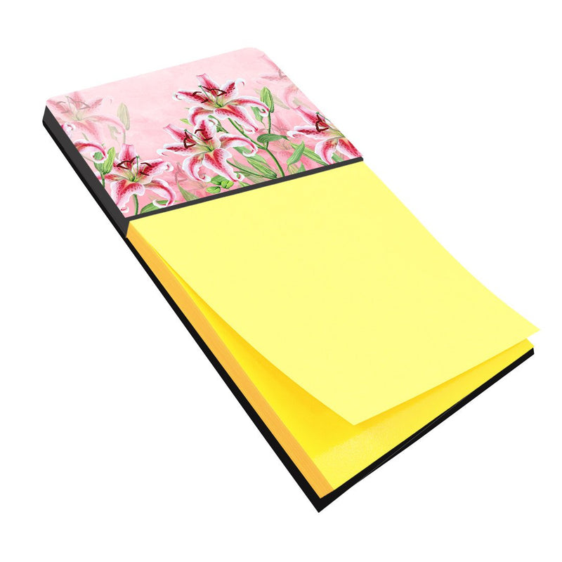 Buy this Pink Lillies Sticky Note Holder BB7446SN