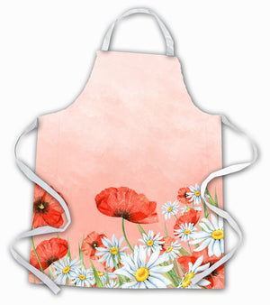Buy this Poppies and Chamomiles Apron BB7448APRON