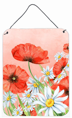 Buy this Poppies and Chamomiles Wall or Door Hanging Prints BB7448DS1216