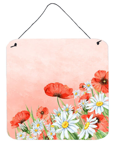 Buy this Poppies and Chamomiles Wall or Door Hanging Prints BB7448DS66