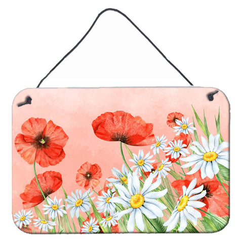 Buy this Poppies and Chamomiles Wall or Door Hanging Prints BB7448DS812