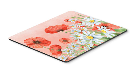 Buy this Poppies and Chamomiles Mouse Pad, Hot Pad or Trivet BB7448MP