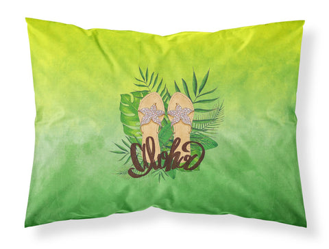 Buy this Aloha Flip Flops Fabric Standard Pillowcase BB7449PILLOWCASE
