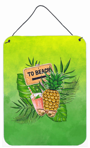 Buy this To the Beach Summer Wall or Door Hanging Prints BB7450DS1216