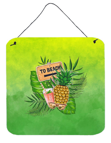 Buy this To the Beach Summer Wall or Door Hanging Prints BB7450DS66