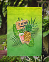 To the Beach Summer Flag Garden Size BB7450GF by Caroline's Treasures