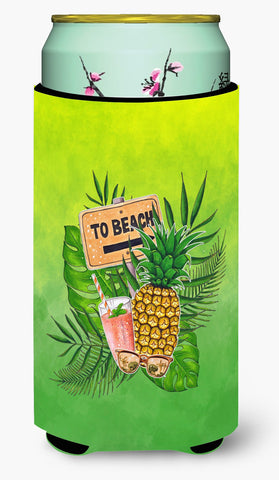 Buy this To the Beach Summer Tall Boy Beverage Insulator Hugger BB7450TBC