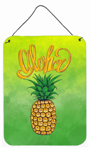 Buy this Aloha Pineapple Welcome Wall or Door Hanging Prints BB7451DS1216