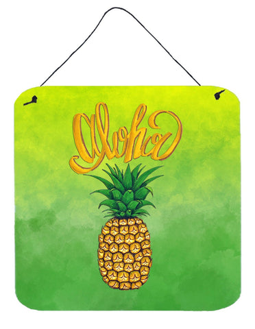 Buy this Aloha Pineapple Welcome Wall or Door Hanging Prints BB7451DS66