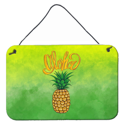 Buy this Aloha Pineapple Welcome Wall or Door Hanging Prints BB7451DS812