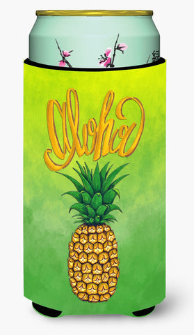 Buy this Aloha Pineapple Welcome Tall Boy Beverage Insulator Hugger BB7451TBC