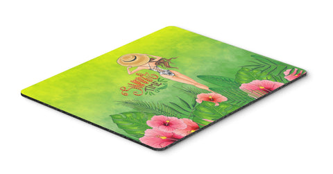 Buy this Summer Time Lady in Swimsuit Mouse Pad, Hot Pad or Trivet BB7455MP