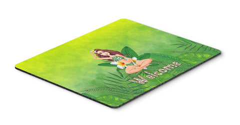 Buy this Welcome Lady in Bikini Summer Mouse Pad, Hot Pad or Trivet BB7457MP