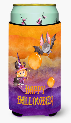 Buy this Halloween Little Witch and Bat Tall Boy Beverage Insulator Hugger BB7458TBC