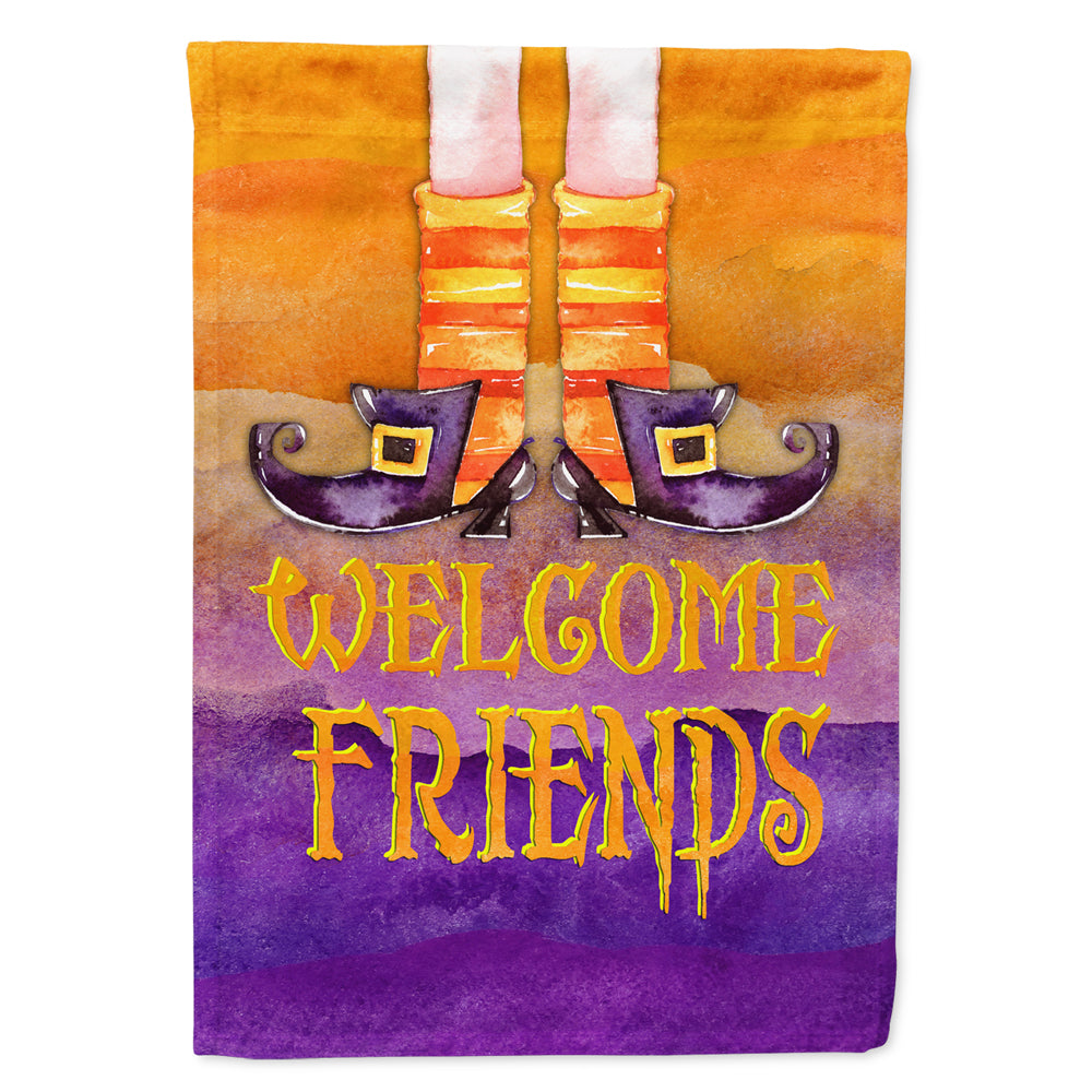 Buy this Halloween Welcome Witches Feet Flag Canvas House Size
