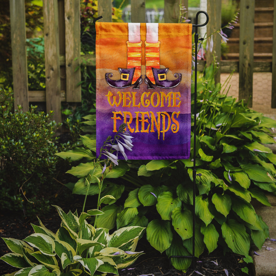 Buy this Halloween Welcome Witches Feet Flag Garden Size