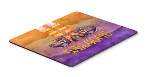 Buy this Halloween Welcome Witches Feet Mouse Pad, Hot Pad or Trivet BB7459MP