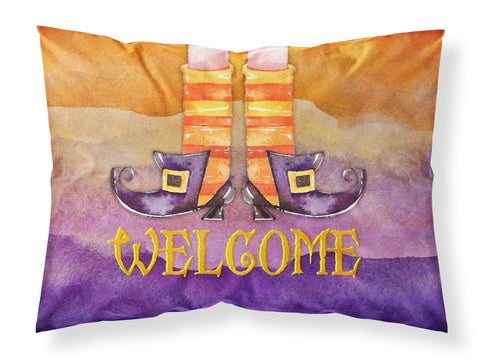 Buy this Halloween Welcome Witches Feet Fabric Standard Pillowcase BB7459PILLOWCASE