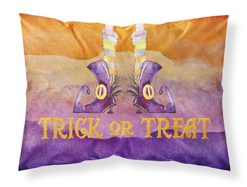 Buy this Halloween Trick Witches Feet Fabric Standard Pillowcase BB7460PILLOWCASE